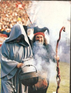 rugby spell with cauldron