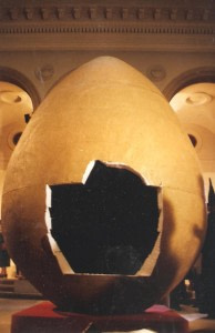 egg with hole